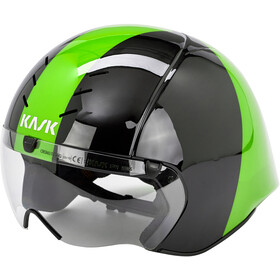 Kask Mistral Casco, black/green